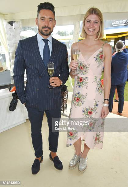 Carl Thompson attends the JaegerLeCoultre Gold Cup Polo Final at Cowdray Park on July 23 2017 in Midhurst England