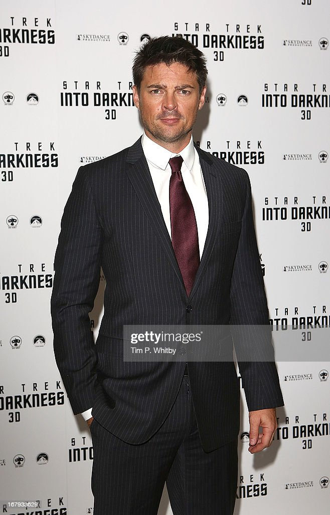 Carl Urban attends the IMAX 3D Premiere of 'Star Trek Into Darkness' at BFI IMAX on May 2, 2013 in London, England.