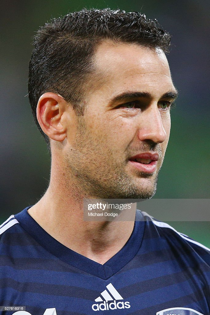 <a gi-track='captionPersonalityLinkClicked' href=/galleries/search?phrase=Carl+Valeri&family=editorial&specificpeople=2224207 ng-click='$event.stopPropagation()'>Carl Valeri</a> of the Victory looks on during the AFC Champions League match between Melbourne Victory and Gamba Osaka at AAMI Park on May 3, 2016 in Melbourne, Australia.