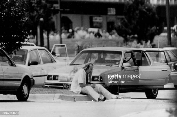 Carl Warren McClure 35 of Murray Utah engages police in a tense standoff in an Arapahoe County parking lot after terrorizing two female hostages...