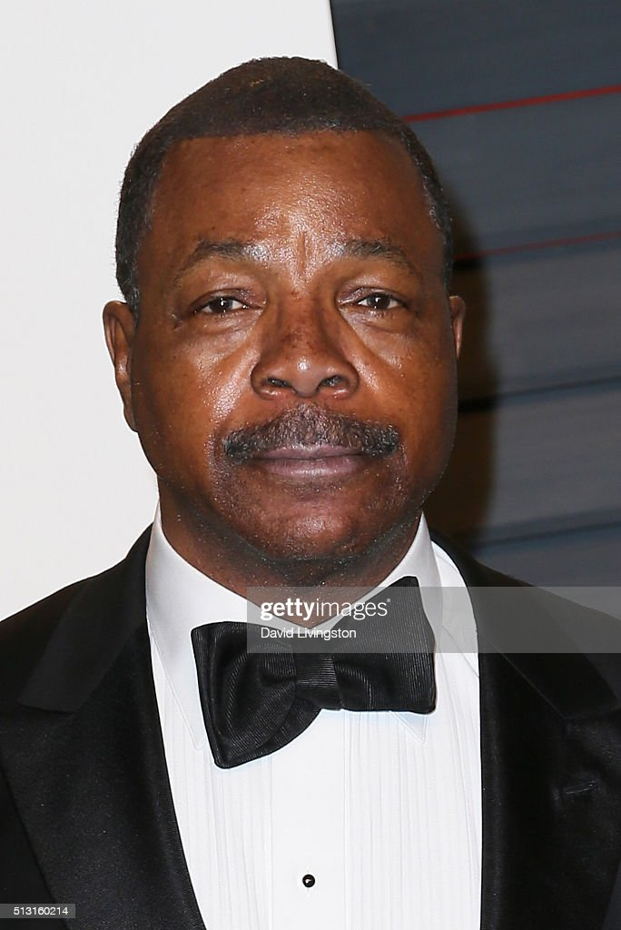 <a gi-track='captionPersonalityLinkClicked' href=/galleries/search?phrase=Carl+Weathers&family=editorial&specificpeople=791982 ng-click='$event.stopPropagation()'>Carl Weathers</a> arrives at the 2016 Vanity Fair Oscar Party Hosted by Graydon Carter at the Wallis Annenberg Center for the Performing Arts on February 28, 2016 in Beverly Hills, California.