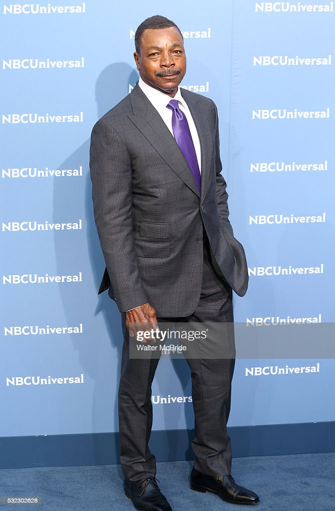 <a gi-track='captionPersonalityLinkClicked' href=/galleries/search?phrase=Carl+Weathers&family=editorial&specificpeople=791982 ng-click='$event.stopPropagation()'>Carl Weathers</a> attends the NBCUNIVERSAL 2016 Upfront presentation at Radio City Music Hall on May 16, 2016 in New York City.