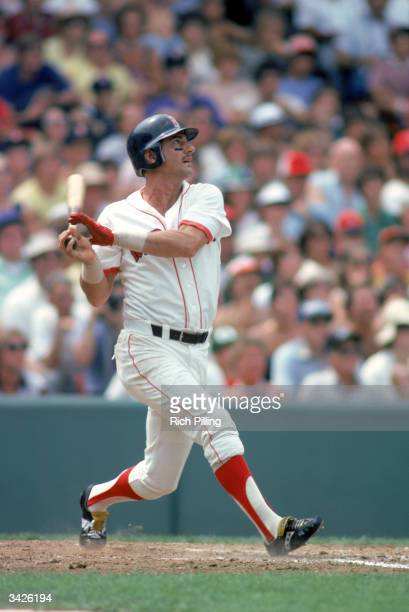 Carl Yastrzemski of the Boston Red Sox batting at Fenway Park in Boston Massachusetts in 1979 Yaz played for the Red Sox from 19611983
