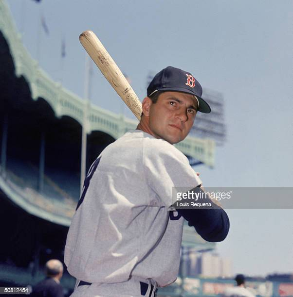 Carl Yastrzemski of the Boston Red Sox poses for a portrait at Yankee Stadium in the Bronx New York Yaz played for the Sox from 19611983