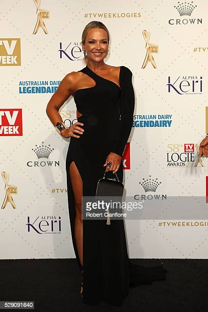 Carla Bonner arrives at the 58th Annual Logie Awards at Crown Palladium on May 8 2016 in Melbourne Australia