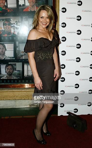 Carla Bonner arrives for the opening night of the 2007 Melbourne International Film Festival with the screening of 'Sicko' at the Regent Theatre on...
