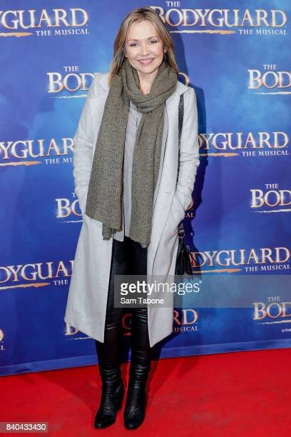 Carla Bonner during a production media call for The Bodyguard at Regent Theatre on August 29 2017 in Melbourne Australia