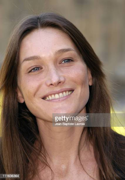 Carla Bruni during Iggy Pop Carla Bruni Zazie and Thomas Fersen Receiving the 'Arts and Letters Medal' Paris at Ministry of Culture in Paris France