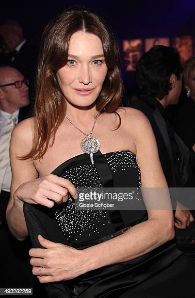 Carla BruniSarkozy attends amfAR's 21st Cinema Against AIDS Gala Presented By WORLDVIEW BOLD FILMS and BVLGARI at Hotel du CapEdenRoc on May 22 2014...
