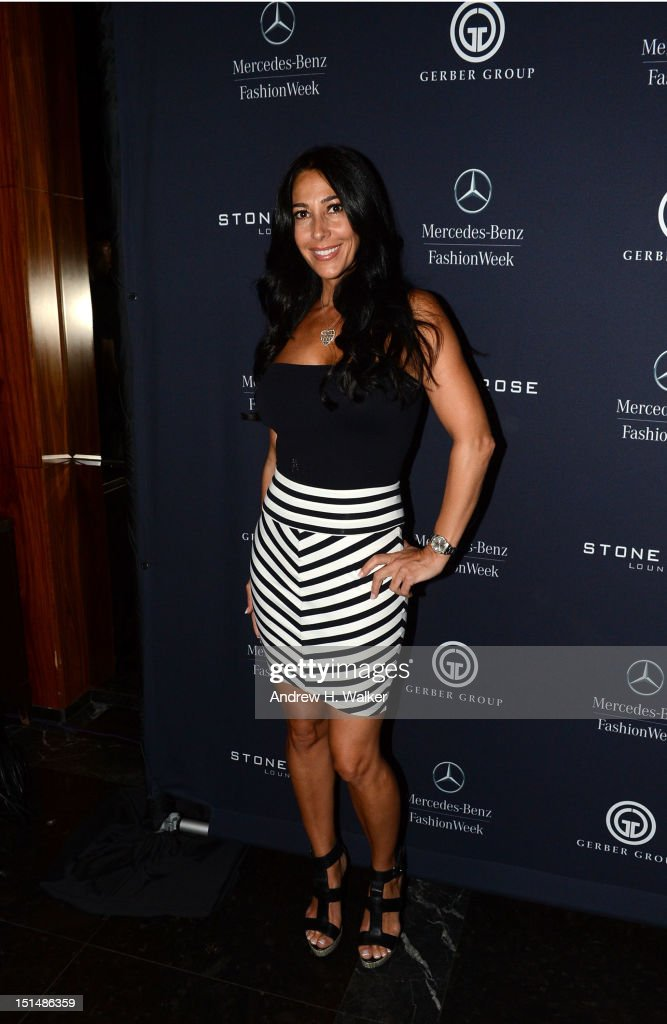 Carla Facciola attends Spring 2013 MercedesBenz Fashion Week at The official lounge of MercedesBenz Fashion Week at Stone Rose Lounge on September 7...