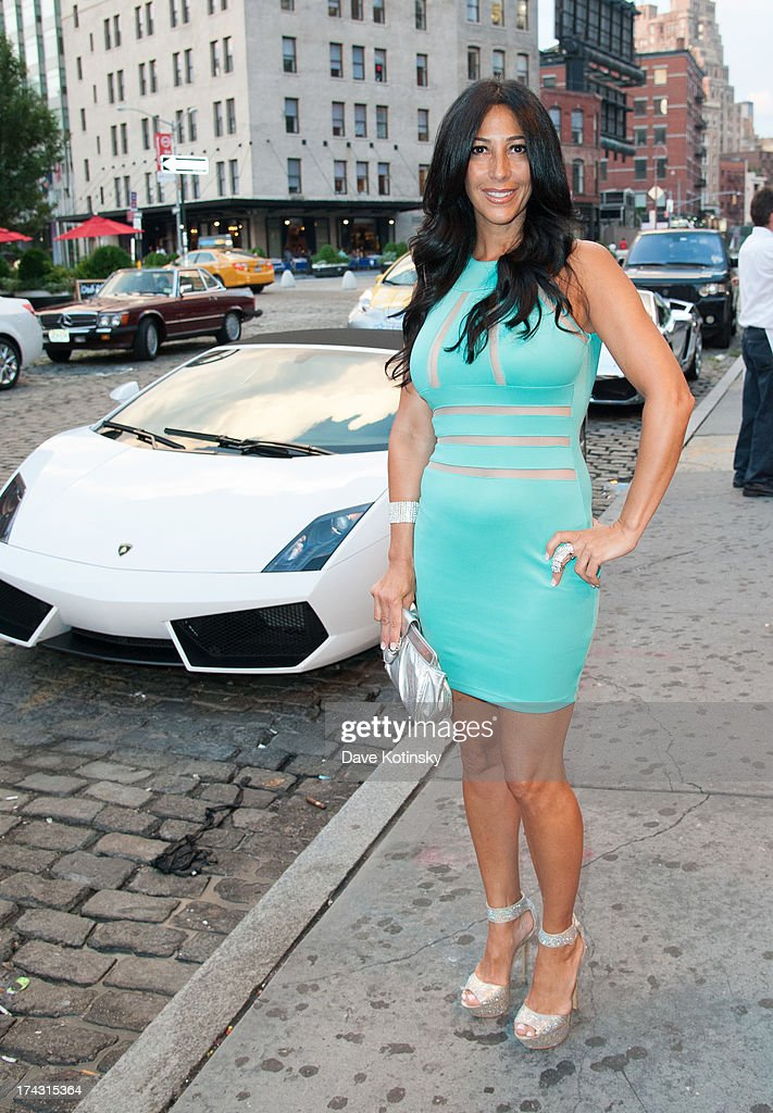 Carla Facciolo attends 'G-Thing' Series Premiere Party at The Griffin on July 23, 2013 in New York City.
