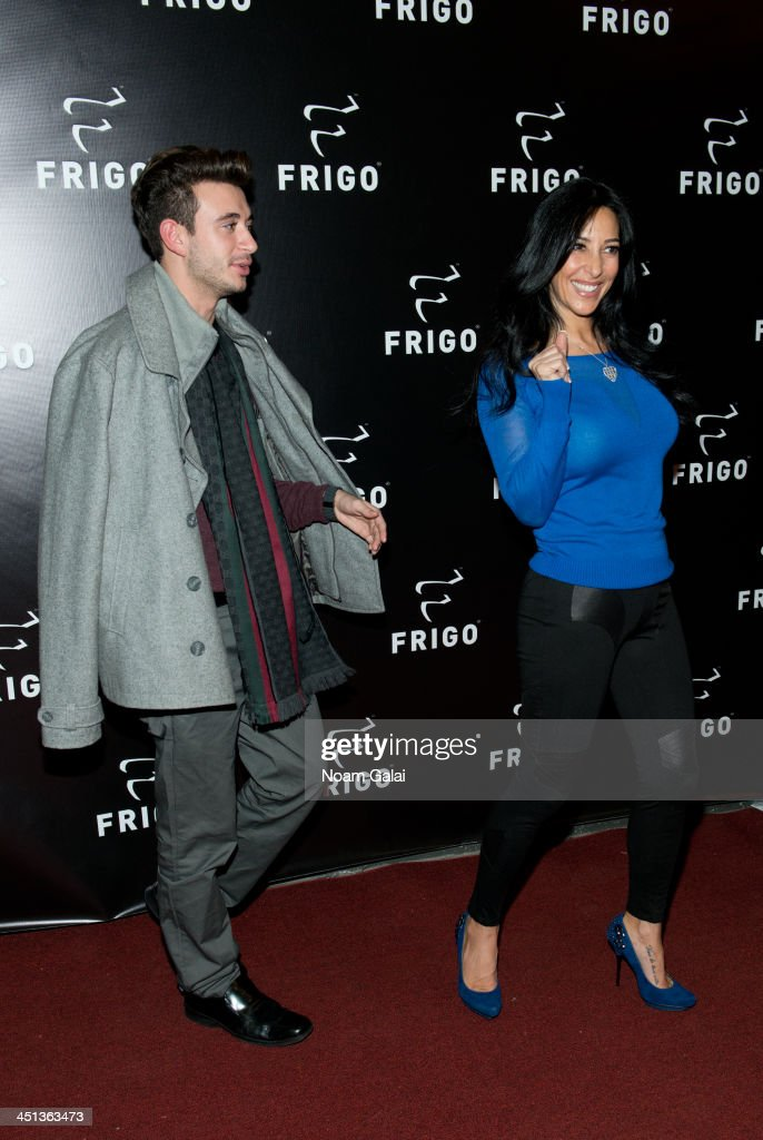 Carla Facciolo (R) attends the launch party of the Frigo Pop-Up Store on November 21, 2013 in New York City.