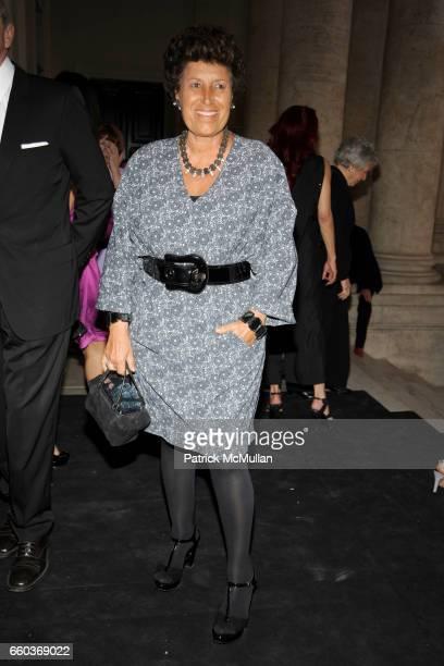 Carla Fendi attends BVLGARI 125th Anniversary Retrospective Opening at Palazzo delle Esposizioni on May 20 2009 in Rome Italy