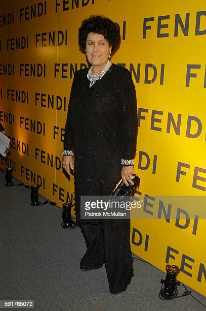 Carla Fendi attends Fendi Flagship Store Opening at Fendi on November 3 2005 in New York City
