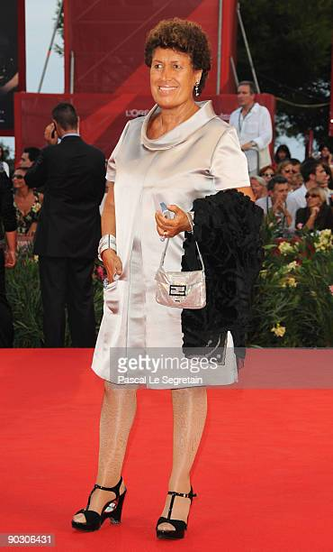 Carla Fendi attends the Opening Ceremony and Baaria Red Carpet at the Sala Grande during the 66th Venice Film Festival on September 2 2009 in Venice...