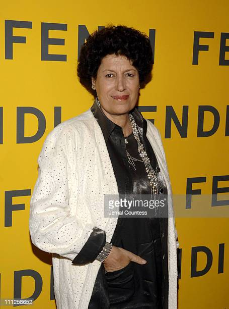 Carla Fendi during Fendi Presents 'The All Hollows Eve Party' at 25 Broadway in New York City New York United States