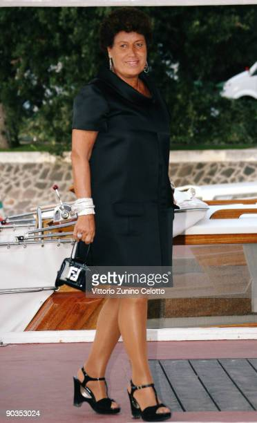 Carla Fendi is seen during the 66th Venice Film Festival on September 5 2009 in Venice Italy