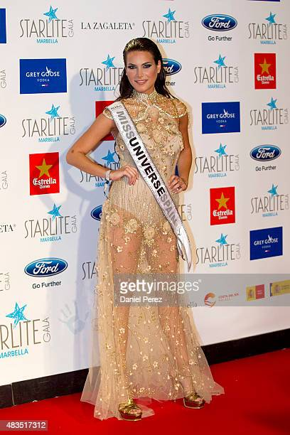 Carla Garcia attends Starlite Gala on August 9 2015 in Marbella Spain