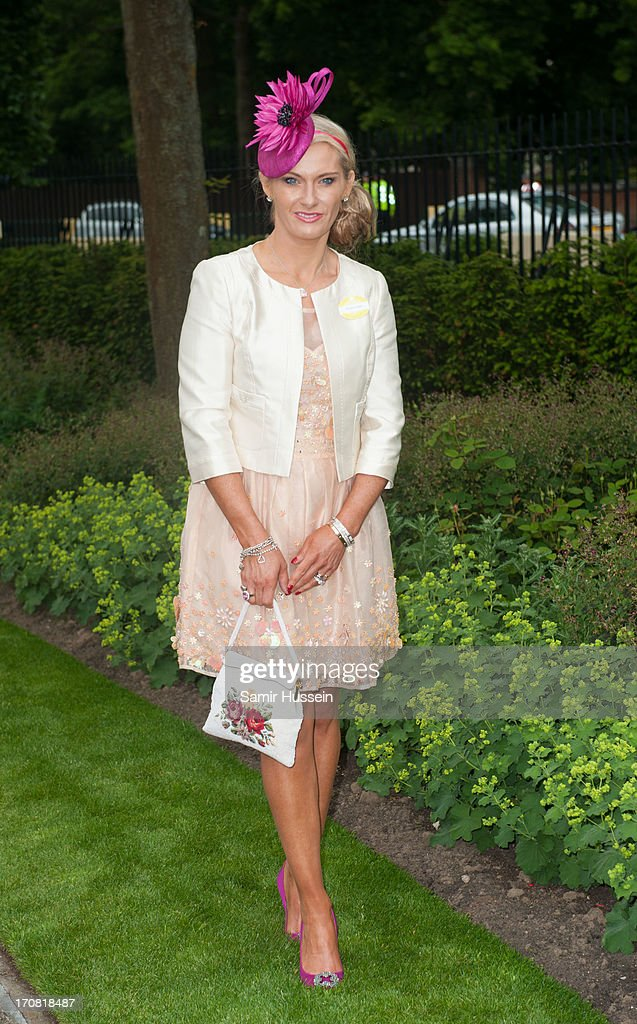 Carla Germaine attends day 1 of Royal Ascot at Ascot Racecourse on June 18, 2013 in Ascot, England.