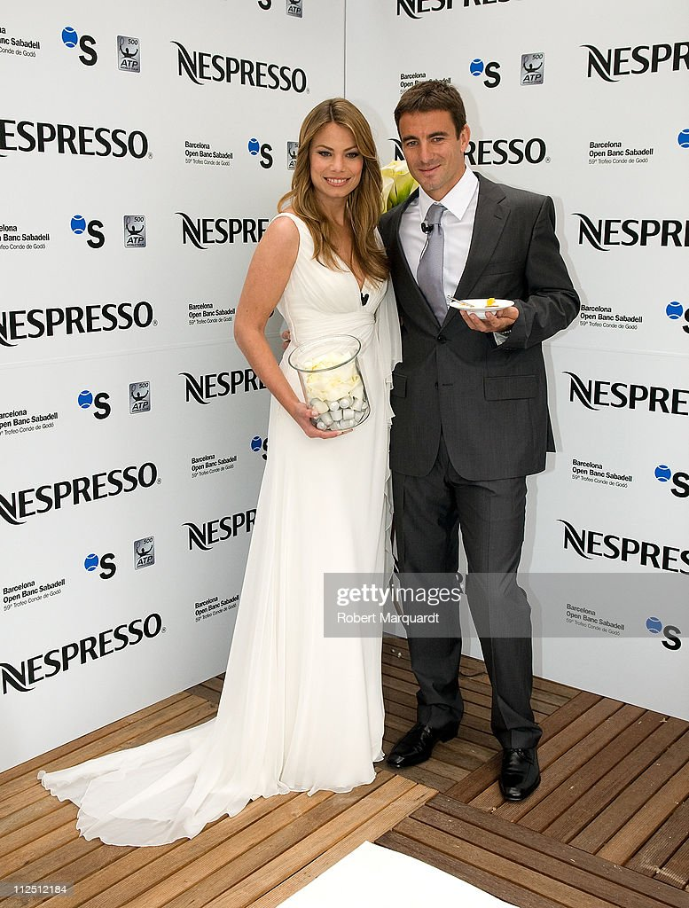 Carla Goyanes and Tommy Robredo attend a 'Gastronomical Wedding' with Nespresso