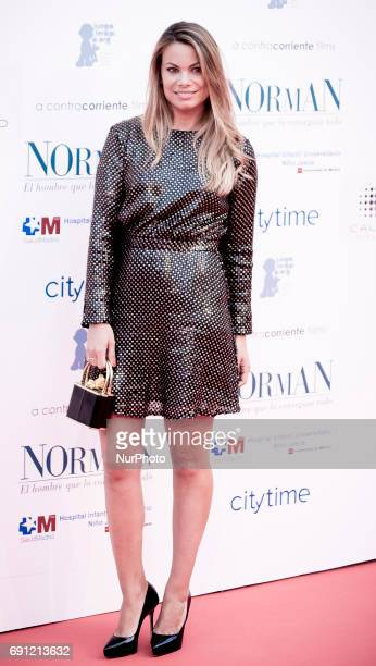 Carla Goyanes attends the 'Norman The Moderate Rise and Tragic Fall of a New York Fixer' premiere at the Callao cinema on May 31 2017 in Madrid Spain
