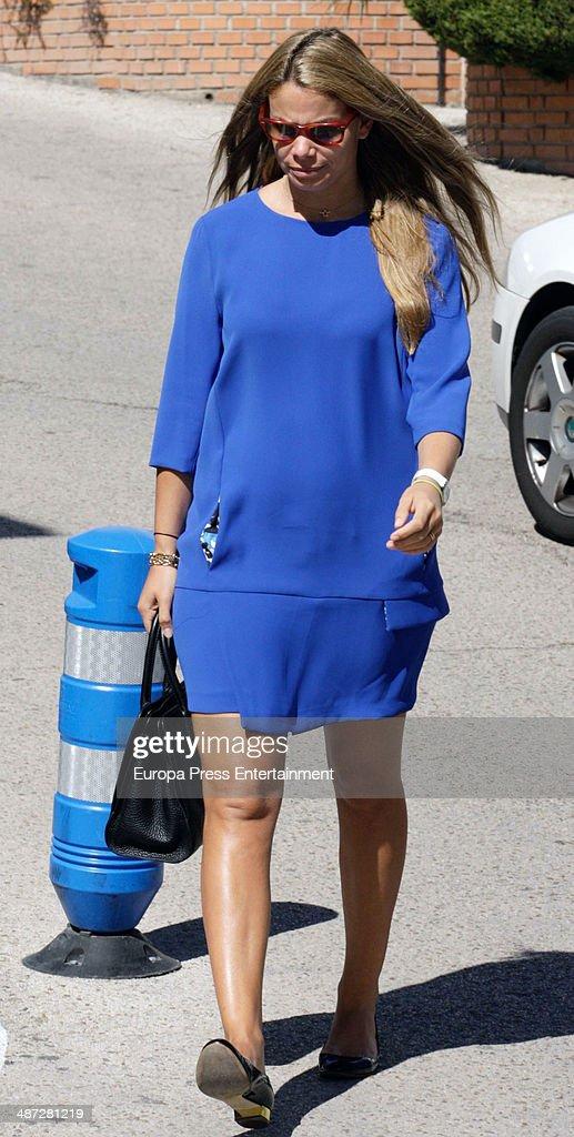 Carla Goyanes is seen on April 7 2014 in Madrid Spain