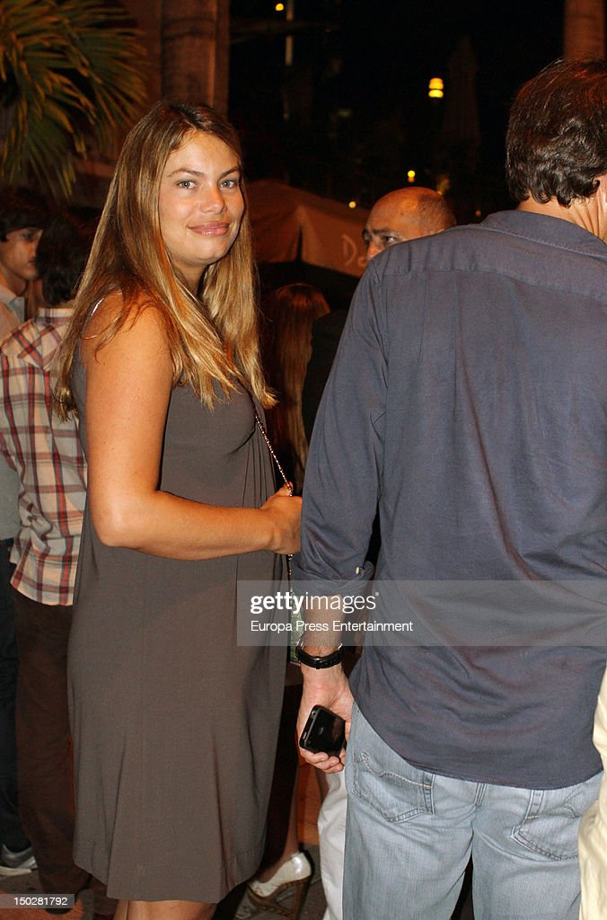 Carla Goyanes is seen on August 4 2012 in Miami Florida