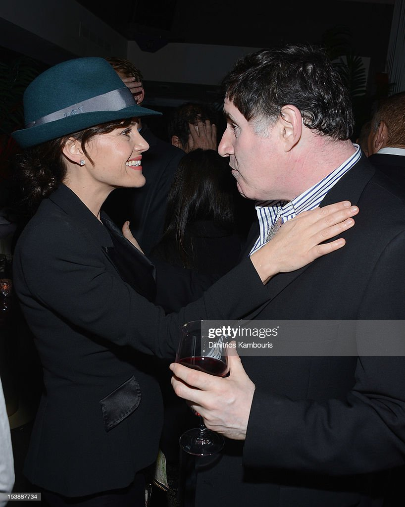 <a gi-track='captionPersonalityLinkClicked' href=/galleries/search?phrase=Carla+Gugino&family=editorial&specificpeople=207137 ng-click='$event.stopPropagation()'>Carla Gugino</a> and <a gi-track='captionPersonalityLinkClicked' href=/galleries/search?phrase=Richard+Kind&family=editorial&specificpeople=216578 ng-click='$event.stopPropagation()'>Richard Kind</a> attends The Cinema Society with Hugo Boss and Appleton Estate screening of 'Seven Psychopaths' at No. 8 on October 10, 2012 in New York City.