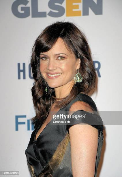 Carla Gugino attends 2017 GLSEN Respect Awards at Cipriani 42nd Street on May 15 2017 in New York City