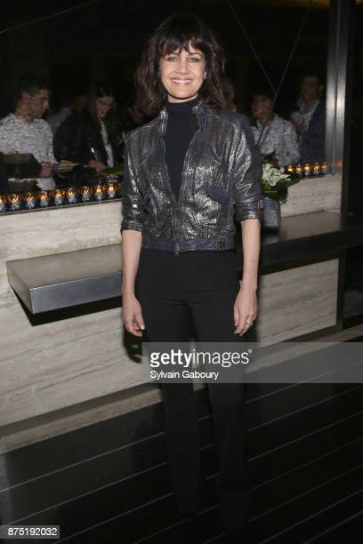 Carla Gugino attends Calvin Klein and The Cinema Society host the after party for Sony Pictures Classics' 'Call Me By Your Name' on November 16 2017...