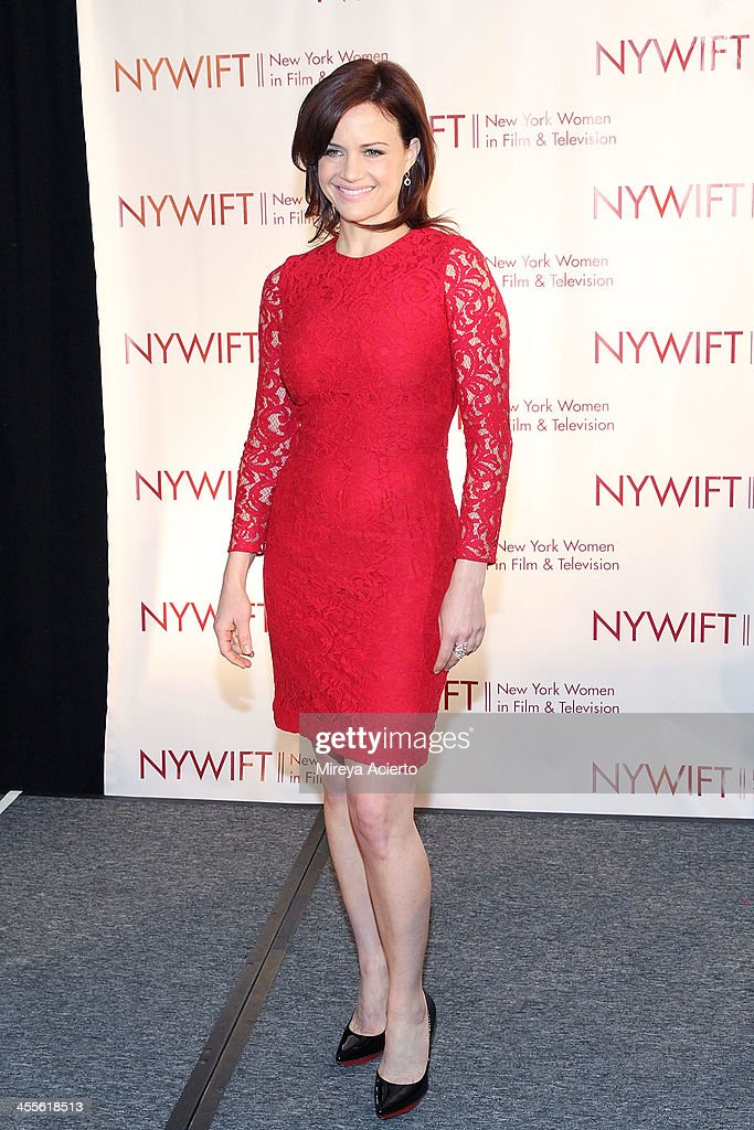 Carla Gugino attends New York Women In Film And Television's 33rd Annual Muse Awards at New York Hilton on December 12 2013 in New York City