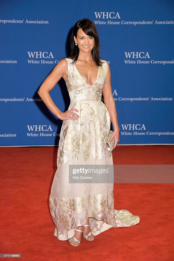 Carla Gugino attends the 101st Annual White House Correspondents' Association Dinner at the Washington Hilton on April 25 2015 in Washington DC