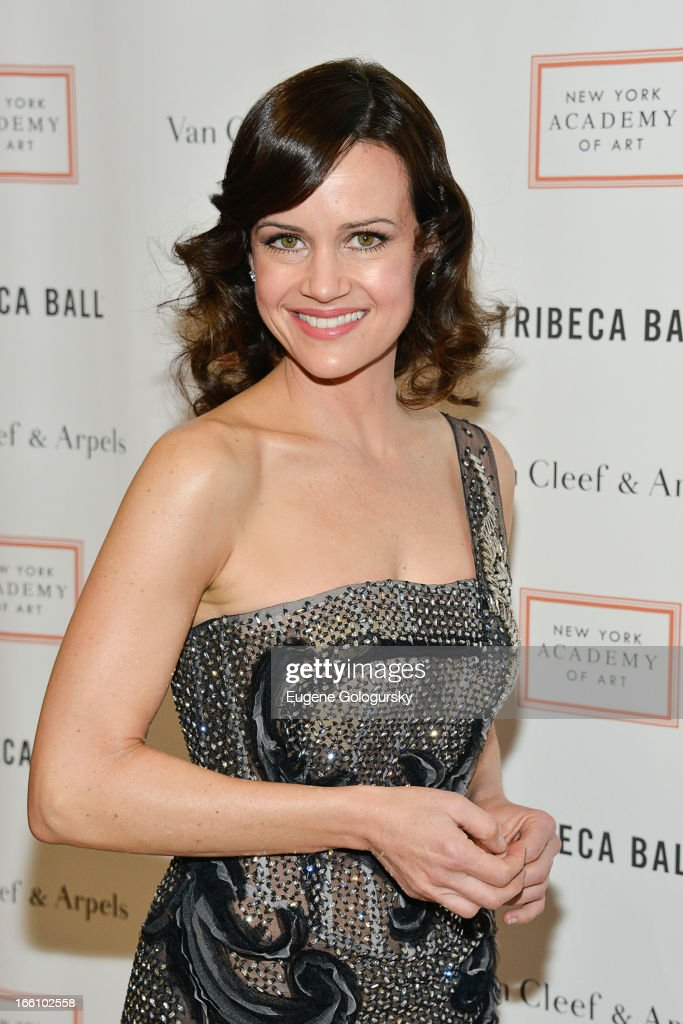 Carla Gugino attends the 2013 Tribeca Ball at New York Academy of Art on April 8, 2013 in New York City.