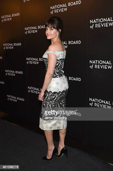 Carla Gugino attends the 2014 National Board of Review Gala at Cipriani 42nd Street on January 6 2015 in New York City