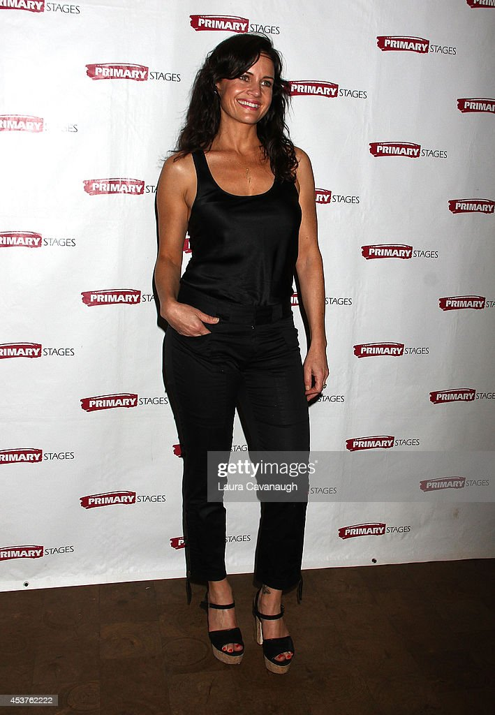 <a gi-track='captionPersonalityLinkClicked' href=/galleries/search?phrase=Carla+Gugino&family=editorial&specificpeople=207137 ng-click='$event.stopPropagation()'>Carla Gugino</a> attends the 'Poor Behavior' Opening Night after party at Casa Nonna on August 17, 2014 in New York City.