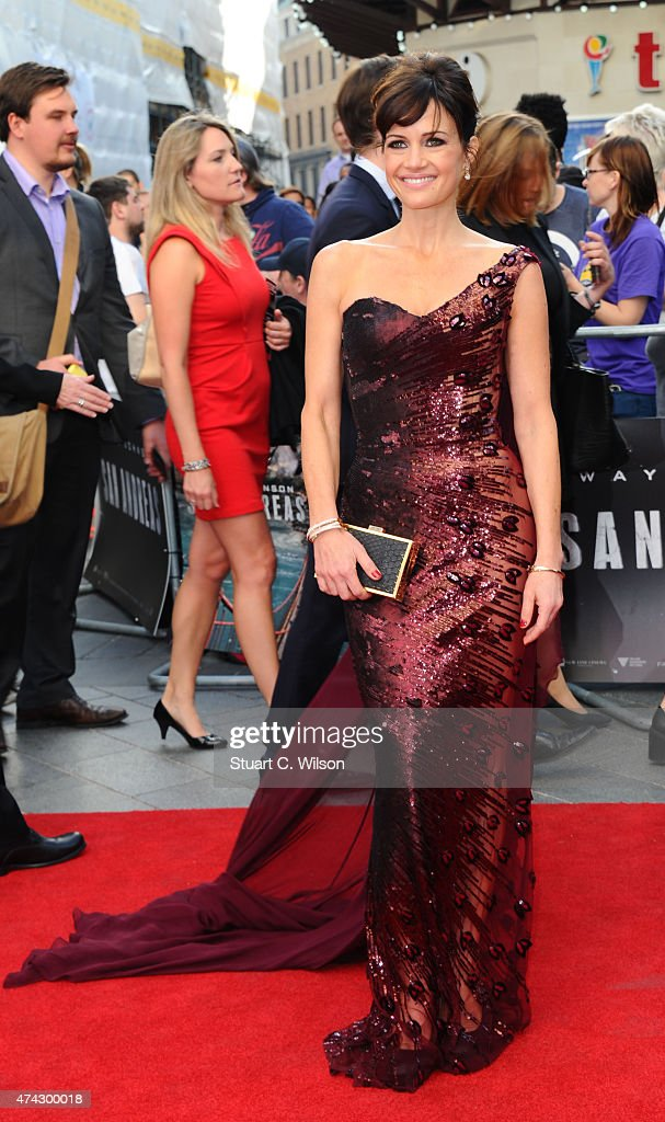 Carla Gugino attends the UK Premiere of 'San Andreas' at Odeon Leicester Square on May 21 2015 in London England