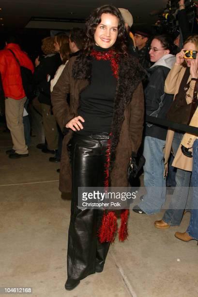 Carla Gugino during 2003 Sundance Film Festival 'The Singing Detective' Premiere at Eccles in Sundance UT United States