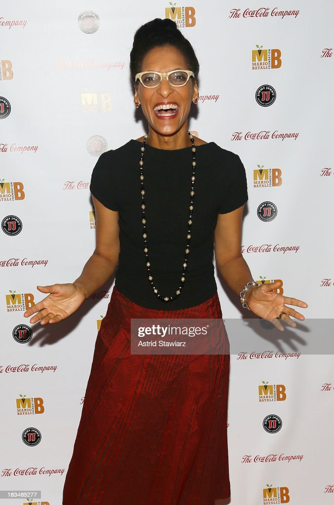 Carla Hall attends 2nd Annual Mario Batali Foundation Honors Dinner at Del Posto Ristorante on October 6, 2013 in New York City.
