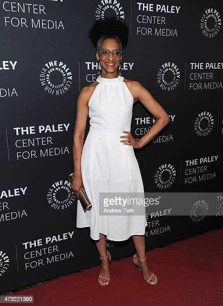 Carla Hall attends A Tribute To AfricanAmerican Achievements In Television hosted by The Paley Center For Media at Cipriani Wall Street on May 13...