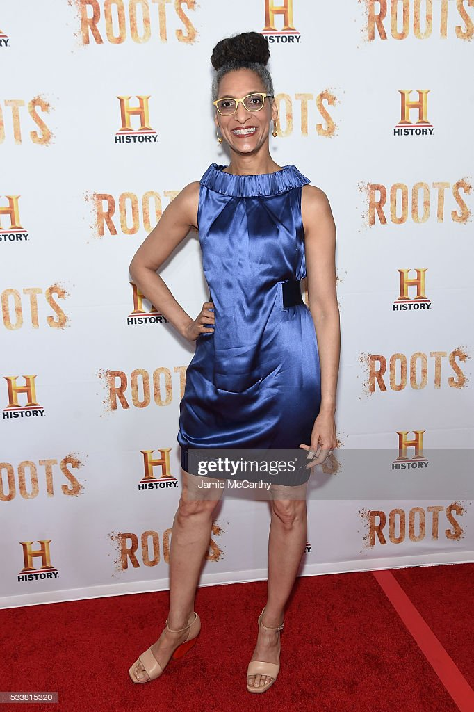 Carla Hall attends the 'Roots' night one screening at Alice Tully Hall Lincoln Center on May 23 2016 in New York City