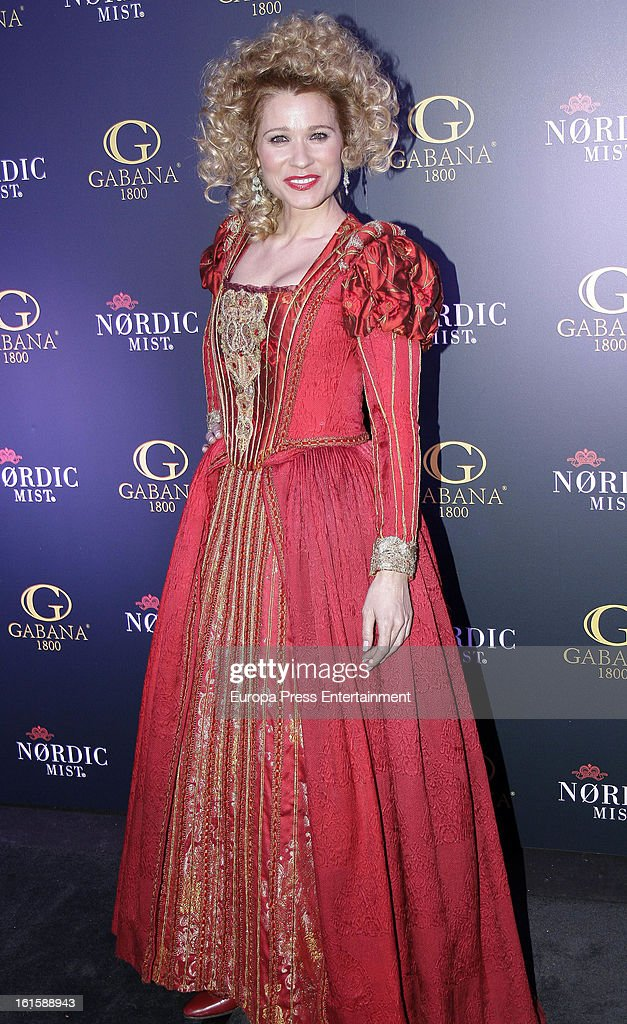 Carla Hidalgo attends 'Carnaval 2013' Party at Gabana 1800 Club on February 7, 2013 in Madrid, Spain.
