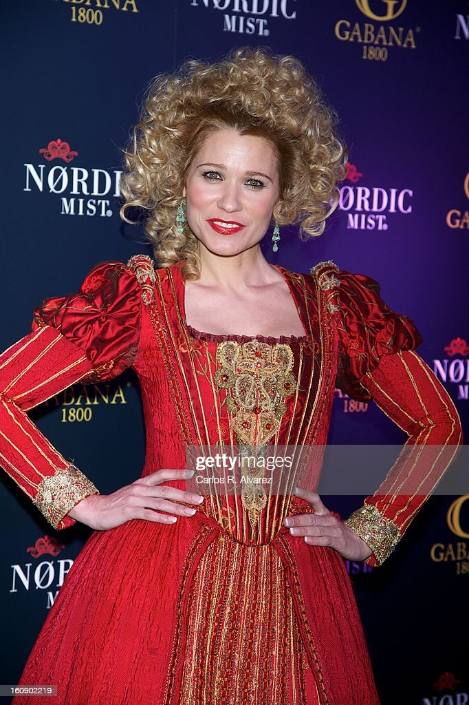 Carla Hidalgo attends 'Carnaval 2013' party at Gabana Club on February 7, 2013 in Madrid, Spain.