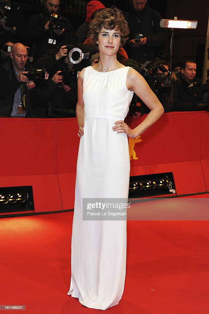Carla Juri attends the 'Before Midnight' Premiere during the 63rd Berlinale International Film Festival at the Berlinale Palast on February 11, 2013 in Berlin, Germany.