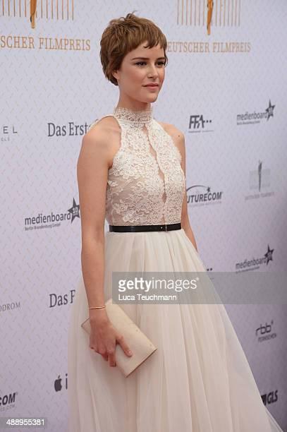 Carla Juri attends the Lola German Film Award 2014 at Tempodrom on May 9 2014 in Berlin Germany