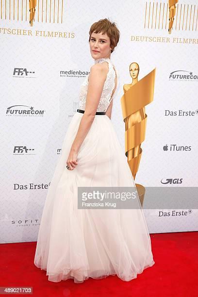 Carla Juri attends the Lola German Film Award 2014 at Tempodrom on May 09 2014 in Berlin Germany