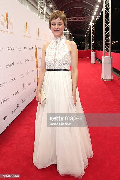 Carla Juri attends the LOLA German Film Awards 2014 after show party at Tempodrom on May 9 2014 in Berlin Germany