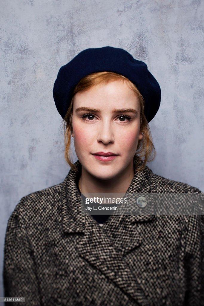 Carla Juri of 'Morris From America' poses for a portrait at the 2016 Sundance Film Festival on January 23, 2016 in Park City, Utah.