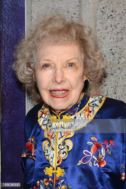 Carla Laemmle attends The Academy of Motion Picture Arts and Sciences' screening of 'The Phantom Of The Opera' at AMPAS Samuel Goldwyn Theater on...
