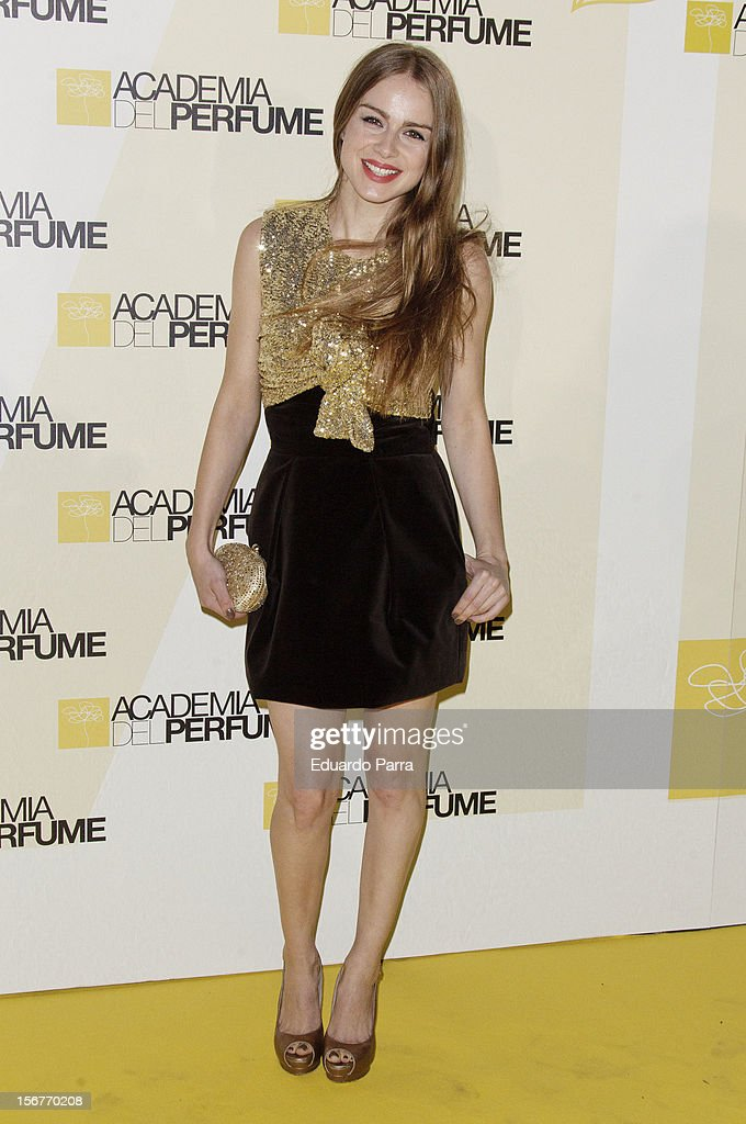 Carla Nieto attends Academia del perfume awards photocall at Casa de America on November 20, 2012 in Madrid, Spain.