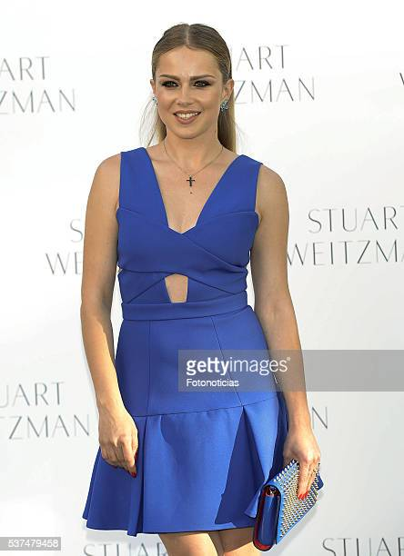 Carla Nieto attends the Stuart Weitzman cocktail party at the US Ambassador's Residence on June 1 2016 in Madrid Spain